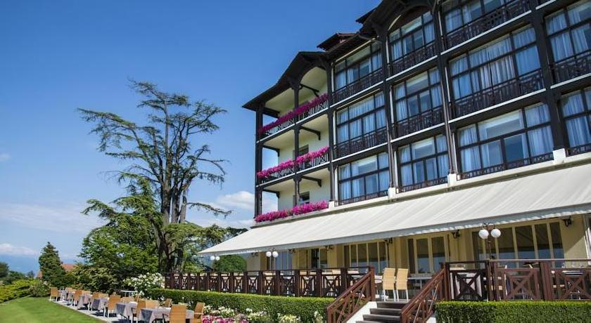 H tel ermitage 4 vian les bains guest reviews hros for Hotels evian