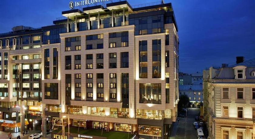 Гостиница Интерконтиненталь Москва Тверская