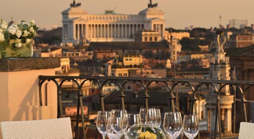 Intercontinental De La Ville Rome